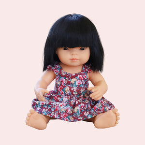 DOLL Darling Dress - Ruby