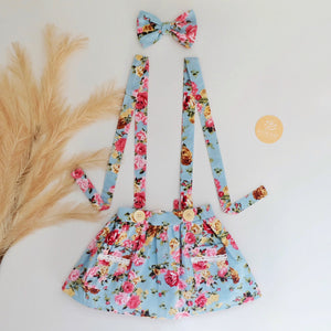 Size 2 Zoe Suspender Skirt