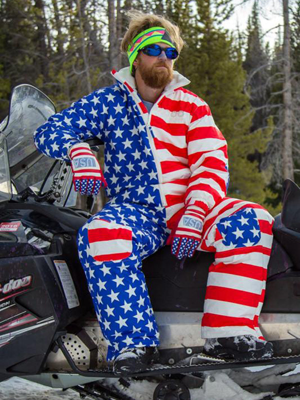 America Warm Special Ski Suit For Man & Woman