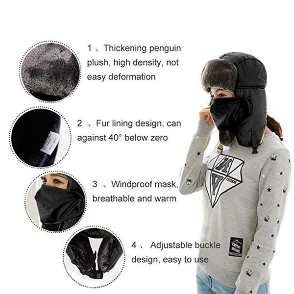 Fashion & Light All-round Warmth Winter Hat - Skiing and Hiking