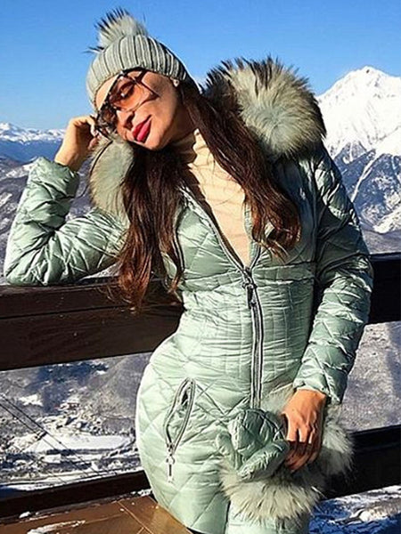2018 Winter Newest Onesies Goose Down Ski Suit