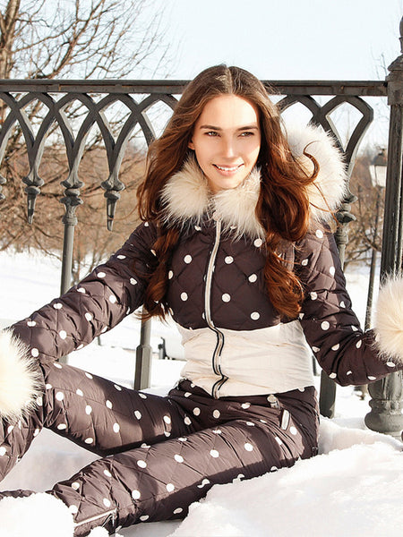 The Most Beautiful Onesies Goose Down Ski Suit