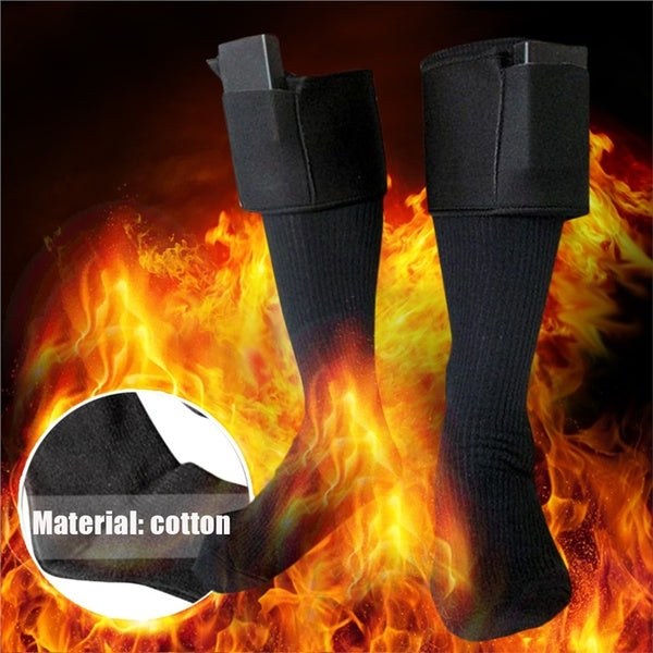 Outdoor Skiing Electric Battery Heated Warm Socks