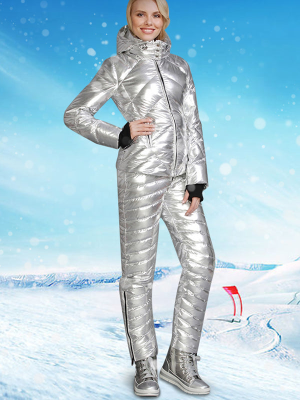 The Coolest Hooded Goose Down Ski Suit - Limited Number