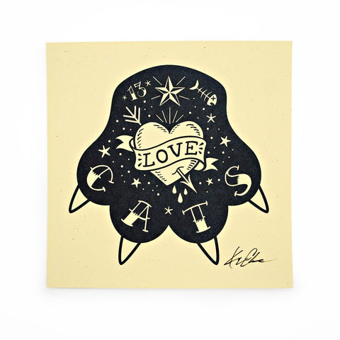 Love Cats - Limited Edition Print