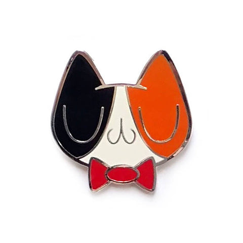 Dapper Calico Meu Enamel Pin