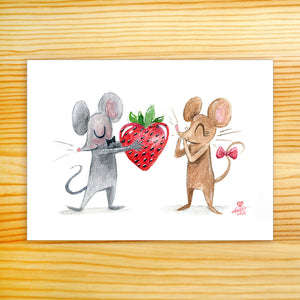 I Love You Berry Much - 5x7 Print