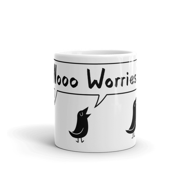 No Worries! Little Bird Trio - Mug