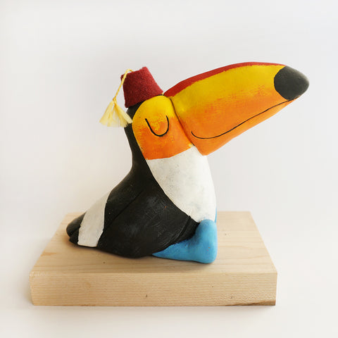 Tiki Toucan! Sculpture