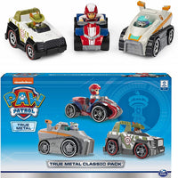 PAW PATROL ~ Everest , Ryder , Tracker - 3 pack of Die cast vehicles
