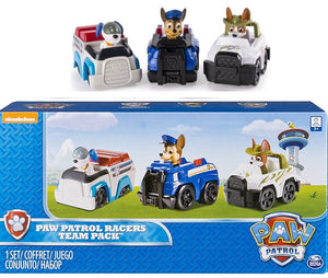 Paw Patrol RACERS - TRACKER , ROBO DOG & CHASE