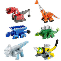 DINOTRUX - 6 PACK GIFT SET BOX with TY RUX, GARBY, TON-TON, REVVIT, ACE, SKYA