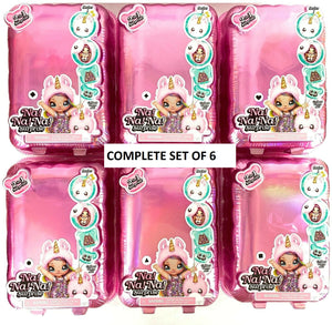 MGA- NA NA NA SURPRISE - Complete set of all 6 DOLLS ( lol surprise )