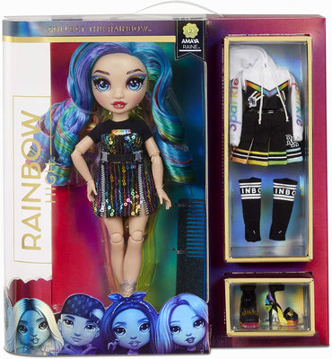 RAINBOW HIGH -  AMAYA RAINE - Rainbow Fashion Doll with 2 Complete Mix & Match outfits