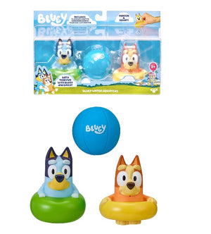 BLUEY - Water Squirters set of 3 bath toys