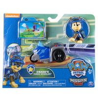 Paw Patrol - Chase's THREE WHEELER & Chase - Mission Paw