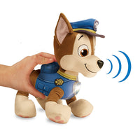 PAW PATROL ~ Deluxe phrases and Sounds 30cm Plush~ REAL TALKING CHASE