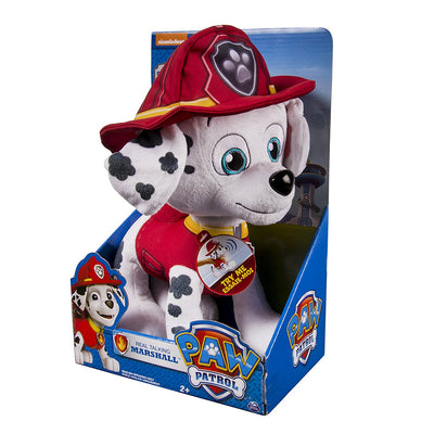 PAW PATROL ~ Deluxe phrases and Sounds 30cm Plush~ REAL TALKING MARSHALL