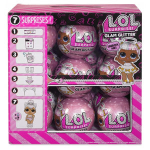 LOL Surprise Dolls - GLAM GLITTER - BOX OF 18