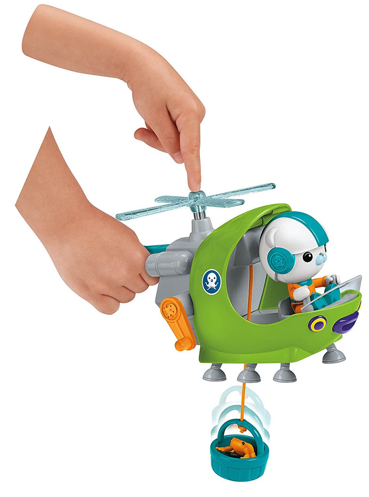 toy helicopter blades with Octonauts Gup H Captain Barnacles Figure Helicopter Toy Fisher Price on Blackout together with Lego Heads To Jurassic World For Some Fallen Kingdom Sets besides Billy 27s toys furthermore Drones Drones On The Range likewise Helicopter Ceiling Fans.
