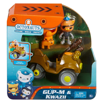 Octonauts -  Gup M and Kwazii Playset