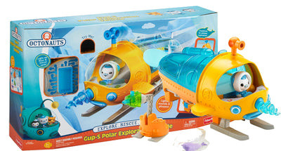Octonauts - Gup S Polar Exploration Vehicle + Lights and Sounds with Captain Barnacles