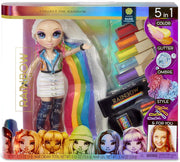 RAINBOW HIGH - HAIR STUDIO with exclusive doll AMAYA RAINE