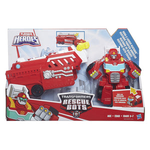 Rescue Bots - PlaySkool Heroes - HEATWAVE Hook and Ladder