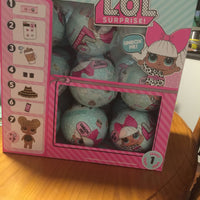 Lol Surprise Dolls ~ SERIES 1 ~ WAVE 4 ~ BIG SISTER - FULL BOX OF 18