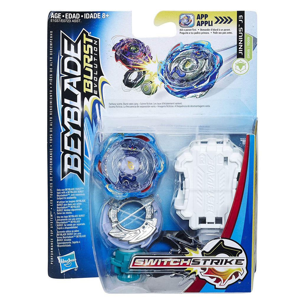 BeyBlade Burst Evolution - JINNIUS J3 - SWITCH STRIKE STARTER PACK