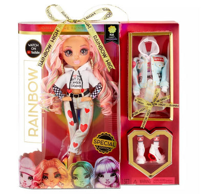 RAINBOW HIGH -  KIA HART - LIMITED EDITION VALENTINES Fashion Doll with 2 Exclusive Outfits - Coming soon