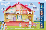 BLUEY - BLUEY'S MEGA BUNDLE Home -  Includes 4 pack figurines + BBQ playset
