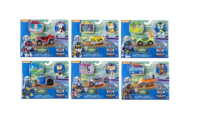 Paw Patrol - Mission Paw MINI VEHICLES - FULL SET as seen in *MOVIE*