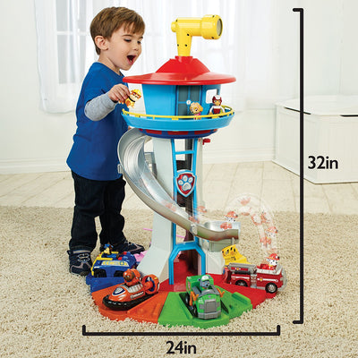 Paw Patrol MY SIZE LOOKOUT TOWER + Lights & Sounds - 80 CM TALL