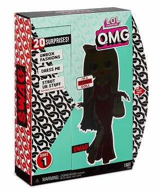 L.O.L LOL Surprise - OMG - SWAG Fashion doll with 20 surprises