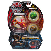 BAKUGAN Battle Planet - PRYUS MANTANOID Starter pack 3 - Pack