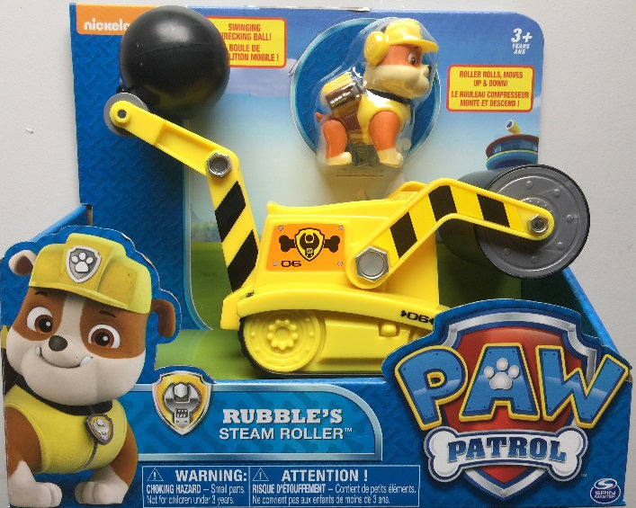 Paw Patrol - Rubble Rubble's Steam ROLLER and Rubble