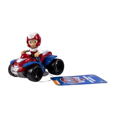 Paw Patrol Ryder's atv RACER with tags