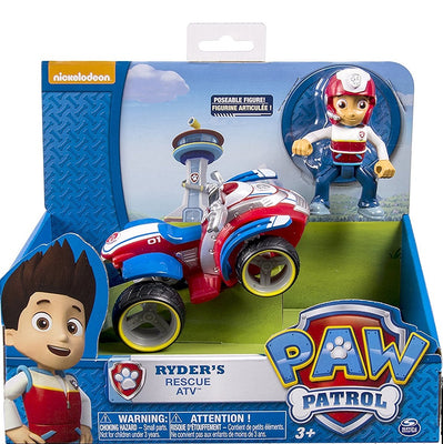 Paw Patrol - Ryder's Ryder Rescue ATV and Figure Ryders