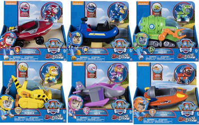 Paw Patrol SEA PATROL - FULL SET OF 6