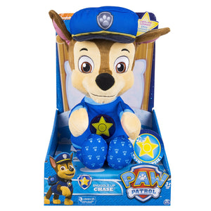 Paw Patrol - Snuggle up CHASE- Lights sounds, phrases Soothing