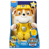 Paw Patrol - Snuggle up RUBBLE- Lights sounds, phrases Soothing