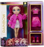 RAINBOW HIGH -  STELLA MONROE - FUCHSIA (HOT PINK) Fashion Doll with 2 Complete Mix & Match outfits