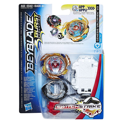 BeyBlade Burst Evolution - Genesis VALTRYEK V3 - SWITCH STRIKE STARTER PACK
