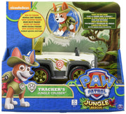 PAW PATROL - Tracker Jungle Cruiser & Tracker Pup - Jungle Rescue