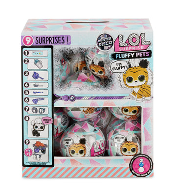 L.O.L LOL Surprise - WINTER DISCO Fluffy Pets - 1 FULL CASE of 16
