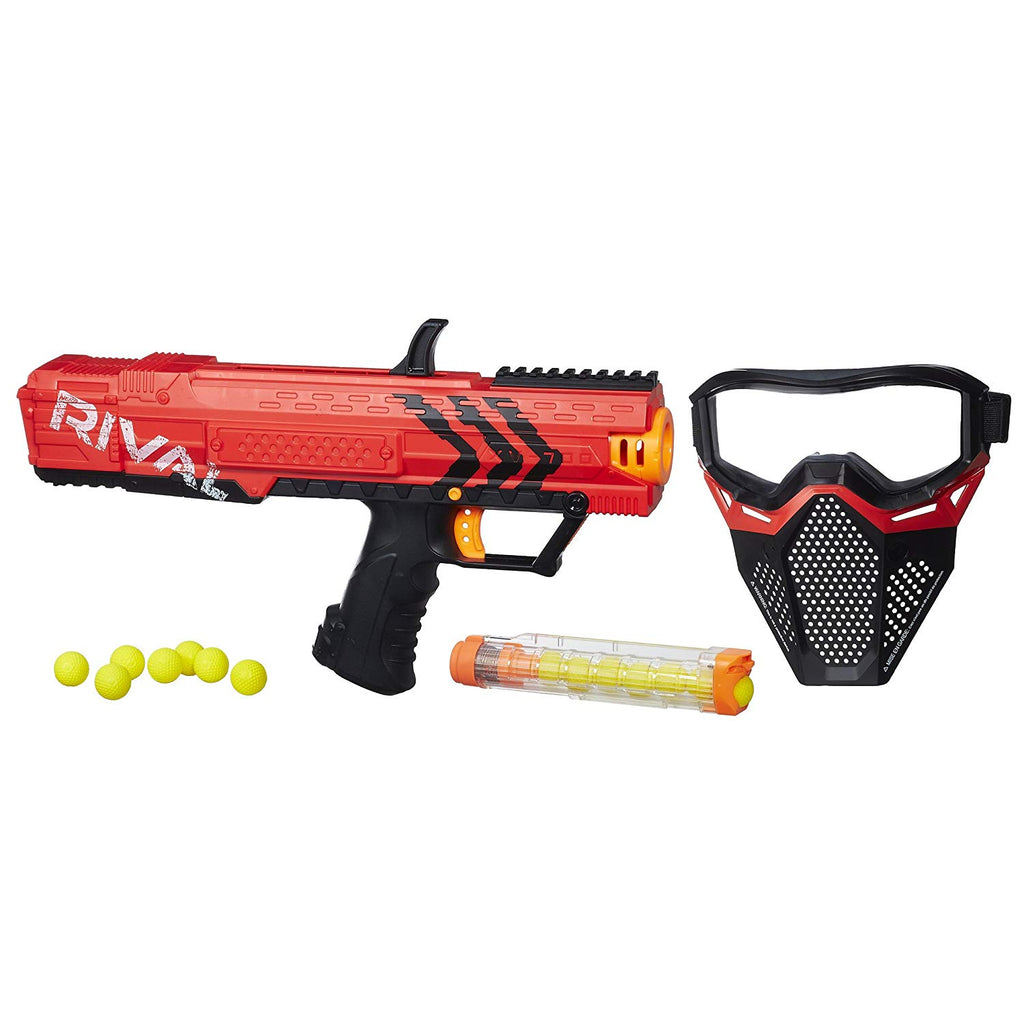 Nerf Rival - APOLLO XV-700 Blaster RED + RED MASK SET