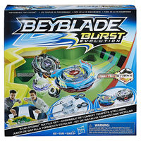 BeyBlade Burst Evolution - STAR STORM BATTLE SET + Switch Strike Valtryek V3 Satomb