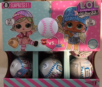 L.O.L LOL Surprise - LOL Surprise All-Star BBs - Full case of 12 dolls / balls