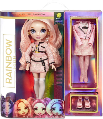 RAINBOW HIGH -  BELLA PARKER - Pink Fashion Doll with 2 Exclusive Outfits - COMING SOON